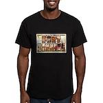 Fort Benning Georgia Men's Fitted T-Shirt (dark)