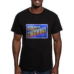 Fort Custer Michigan Men's Fitted T-Shirt (dark)