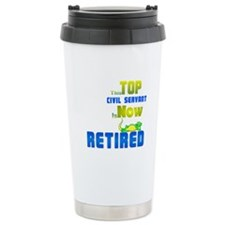 Retired Top Civil Servant 1&2 Ceramic Travel M