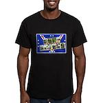 Fort Devens Massachusetts Men's Fitted T-Shirt (da