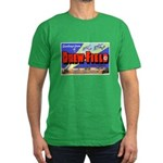 Drew Field Tampa Florida Men's Fitted T-Shirt (dar