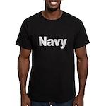 Navy Men's Fitted T-Shirt (dark)