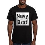 Navy Brat Men's Fitted T-Shirt (dark)