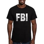 FBI Federal Bureau of Investi Men's Fitted T-Shirt