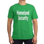 Homeland Security Men's Fitted T-Shirt (dark)
