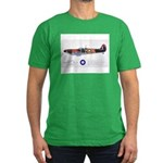Supermarine Spitfire Aircraft Men's Fitted T-Shirt