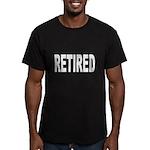 Retired Men's Fitted T-Shirt (dark)