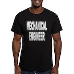 Mechanical Engineer Men's Fitted T-Shirt (dark)
