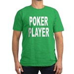 Poker Player Men's Fitted T-Shirt (dark)