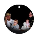 Family Christmas - Ornament (Round)