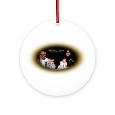 Family Christmas - Ornament (Round)