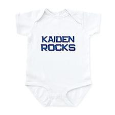 kaiden rocks Infant Bodysuit