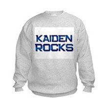 kaiden rocks Sweatshirt