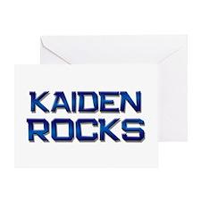 kaiden rocks Greeting Card