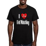 I Love Bird Watching Men's Fitted T-Shirt (dark)