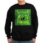 Kiss Me I'm Irish Sweatshirt (dark)