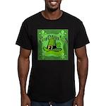 Kiss Me I'm Irish Men's Fitted T-Shirt (dark)