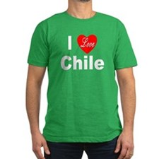 I Love Chile for Chile Lovers T