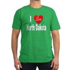 I Love North Dakota T
