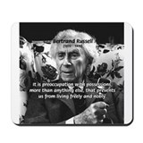 Bertrand Russell Philosophy Mousepad