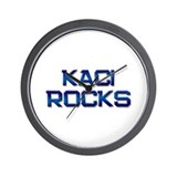 kaci rocks Wall Clock