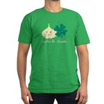 Garlic & Gaelic Men's Fitted T-Shirt GREEN