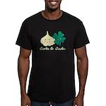 Garlic & Gaelic Men's Fitted T-Shirt GREEN