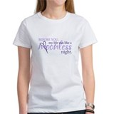 moonless night - purple Tee