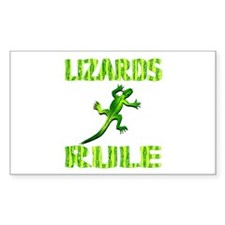 Lizard Rectangle Decal