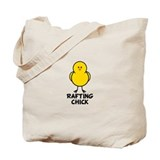 Rafting Chick Tote Bag