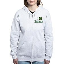 I love Belmar - St. Patrick's Zip Hoodie