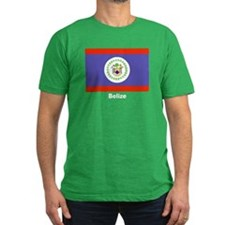 Belize Flag T