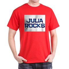 julia rocks Dark T-Shirt