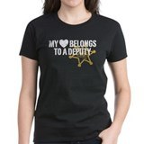 My Heart Belongs to a Deputy Tee