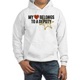 My Heart Belongs to a Deputy Hoodie Sweatshirt