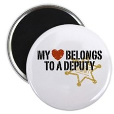 My Heart Belongs to a Deputy Magnet