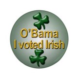 "Voted Irish 3.5"" Button"