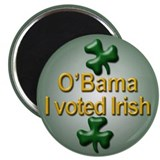 "Voted Irish 2.25"" Magnet (100 pack)"
