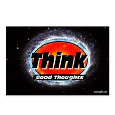 Think Good Thoughts Postcards (Package of 8)