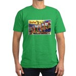 Oakland California Greetings Men's Fitted T-Shirt