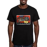 Salina Kansas Greetings Men's Fitted T-Shirt (dark