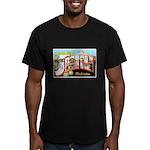 Seattle Washington Greetings Men's Fitted T-Shirt
