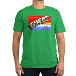 Beaufort South Carolina Greet Men's Fitted T-Shirt