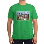 Missouri Greetings Men's Fitted T-Shirt (dark)