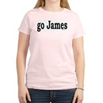 go James Women's Pink T-Shirt