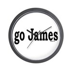 go James Wall Clock