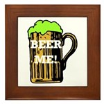 Beer Me! Framed Tile