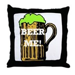 Beer Me! Throw Pillow