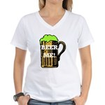 Beer Me! Women's V-Neck T-Shirt