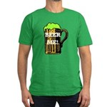 Beer Me! Men's Fitted T-Shirt (dark)